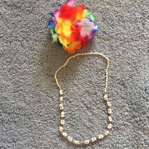 Jewelry - Authentic Hawaiian Luau Shell Necklace 🌺🍍